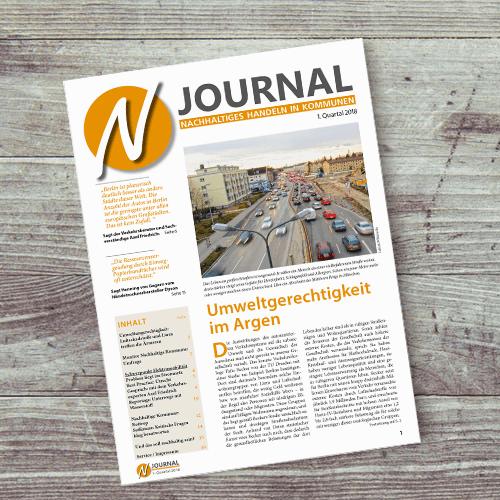 Produktabbildung Zeitschrift N-Journal