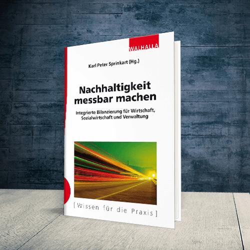 Produktabbildung Buch Nachhaltigkeit messbar machen