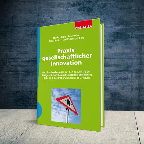 Produktabbildung Buch Praxis gesellschaftlicher Innovation