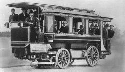 Elektro-Omnibus von 1898