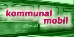 Schriftzug kommunal mobil