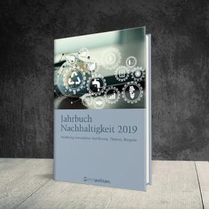 Coverabbildung Jahrbuch Nachhaltikeit 2019