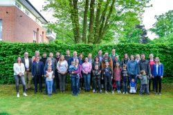 Münsteraner Teilnehmer des Reallabors. Einige werden als Klimatrainer weitermachen.