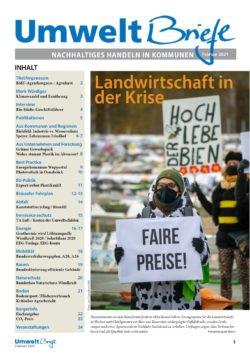 Titelthema der UmweltBriefe im Februar: Ökologische Landwirtschaft