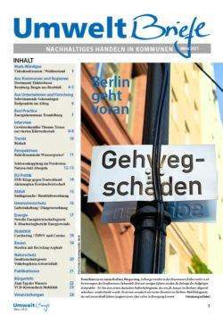 Cover der UmweltBriefe im März 2021