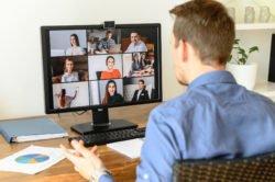 Klimaschutz durch Videokonferenzen funktioniert nur, wenn sie Dienstreisen ersetzen.