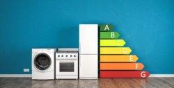 Der Energieverbrauch von Haushaltsgeräten wird im Energielabel angezeigt.