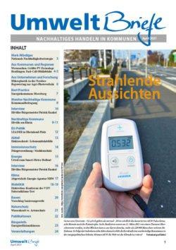 Cover der UmweltBriefe im April