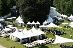Aufnahme von der Woche der Umwelt 2016 im Schlosspark Bellevue.