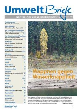 Titelbild der Umweltbriefe im Juli/August